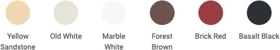 Different colors DryBrick