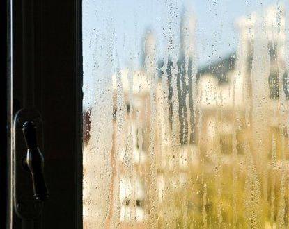 Condensation on the windows